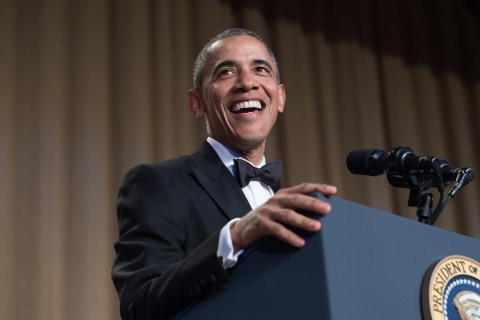 Obama Roasts Trump, Drops Mic at Last White House Correspondents' Dinner