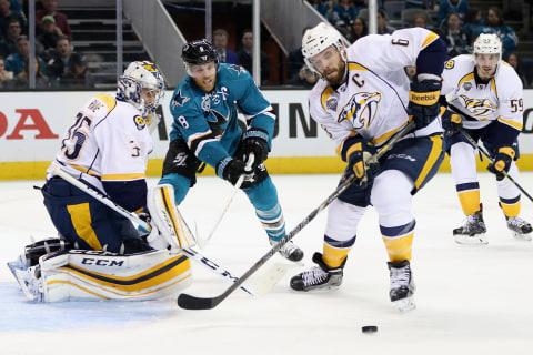 Stanley Cup: Pavelski Lifts Sharks Past Predators, Earn 2-0 Lead
