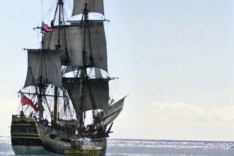 HMS Endeavour: Remains of Captain Cook's Ship Likely Off Rhode Island Coast