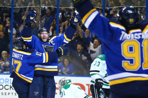 Stanley Cup Playoffs: Blues Resoundingly Defeat Stars in Game 3