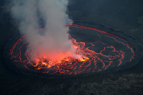 One of Africa's Most Active Volcanoes Shows Signs of Life