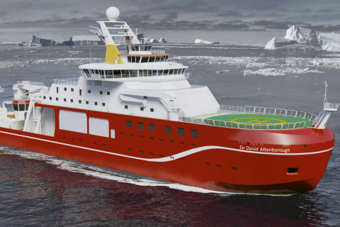 Boaty McBoatface Rejected as Name for New Polar Research Ship