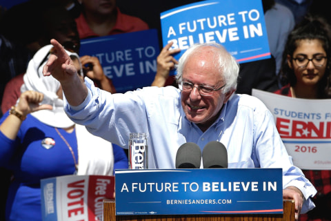 First Read's Morning Clips: How Trump Backers Helped Sanders in WV