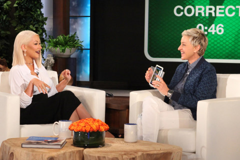 Christina Aguilera Nails Impressions of Madonna, Beyoncé, Katy Perry on 'Ellen'
