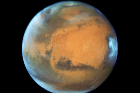 Mars Is Shaking Off an Ice Age, New Research Shows