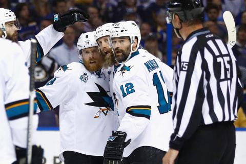 Sharks Bite Blues in Game 5, Move One Win From Stanley Cup Final