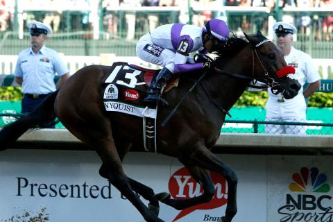 Kentucky Derby Winner Nyquist Won't Run in Belmont Stakes
