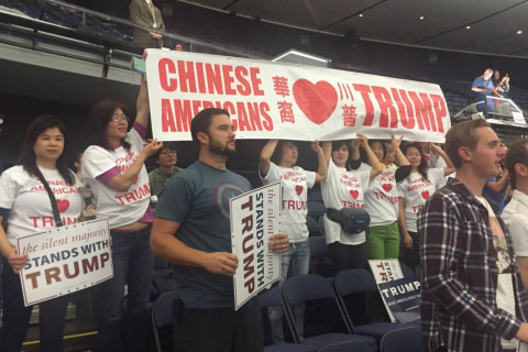 Attracted by Immigration, Education Policies, Some Chinese Americans Stump for Trump