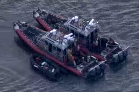 Small Plane Crashes in New York's Hudson River