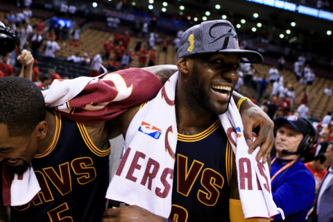 LeBron James, Cavaliers Beat Raptors to Return to NBA Finals