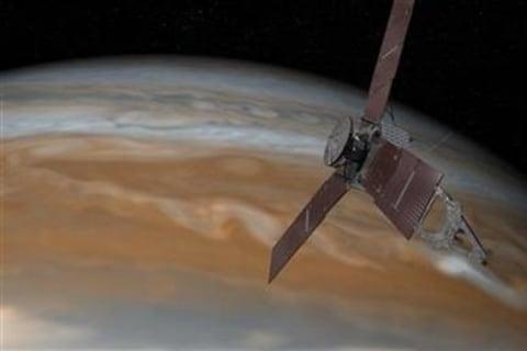 NASA's Juno Solar Spacecraft Has July 4 Date With Jupiter