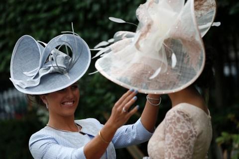 Hats and Horses: Ladies Flaunt Fashion at Royal Ascot