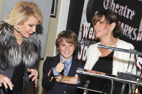 Melissa Rivers Reveals the Best Parenting Lesson She Got From Mom Joan