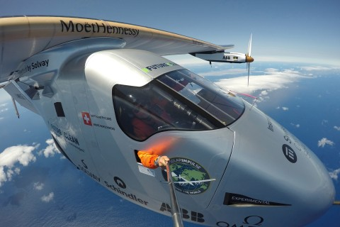 'Impulse' Flight Completes First Solar Round-the-World Journey