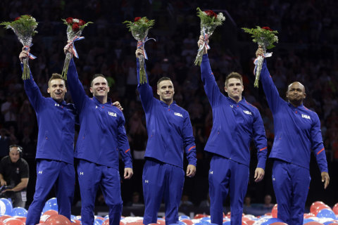 Road to Rio: USA Gymnastics Names Men's Olympic Team