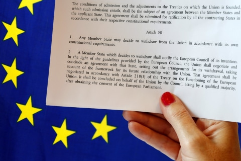 Article 50 and Brexit: What to Know About EU's Divorce Clause