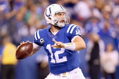 Andrew Luck Signs Extension With Colts Through 2021