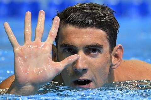 Michael Phelps First U.S. Male Swimmer to Reach Five Olympics