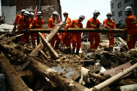 China Surveys the Damage After Devastating Typhoon