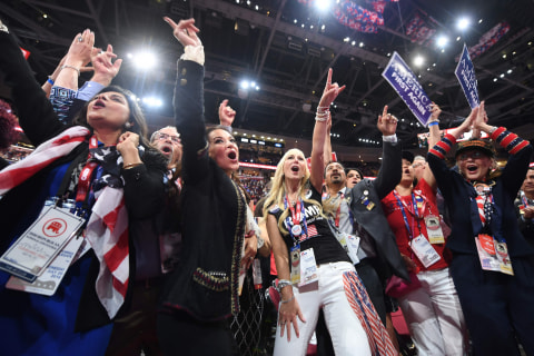 Boos for Cruz and More Scenes from Day Three of GOP Convention