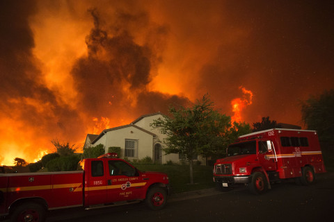 California Wildfire Nearly Doubles in Size, Evacuations Expanded