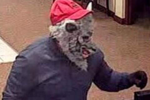 Wolf Mask-Wearing Bank Robber Hunted by FBI