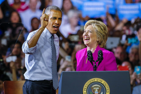 It's Clinton's Convention but Obama May Be Most Important Factor