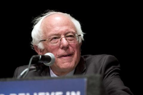 First Read: Bernie's Big Night