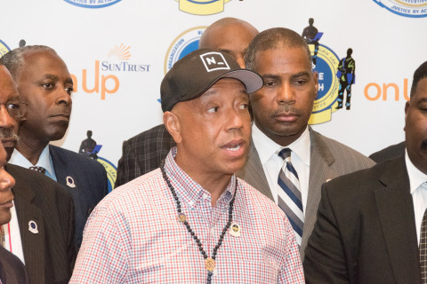 'I Am a Muslim Too': Hip-hop Mogul Russell Simmons Headlines Unity March