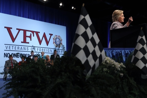 As Convention Kicks Off, Clinton Bypasses DNC Controversy