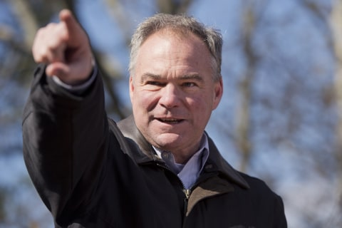 Tim Kaine Now Backs Lifting the Hyde Amendment Banning Abortion Funding