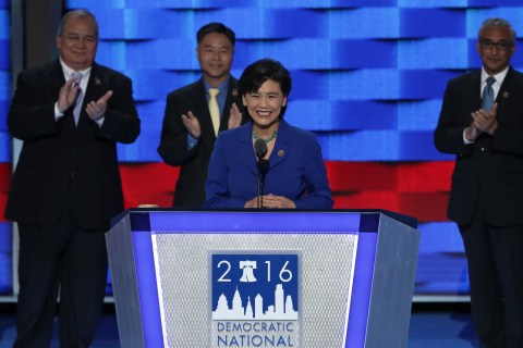 Asian American and Pacific Islander Officials Take the DNC Stage, Celebrate 'Firsts'