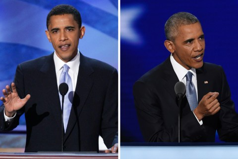 12 Years Later: Obama's DNC Speeches Then and Now