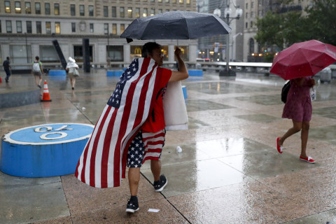 Heavy Storms in East Likely to Stall Democrats' Philadelphia Getaway
