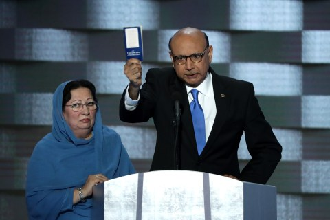 Father of Fallen Soldier to Trump: 'You Have Sacrificed Nothing'