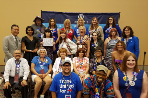 DNC's Transgender Delegates Celebrate Advances, Recognize Challenges