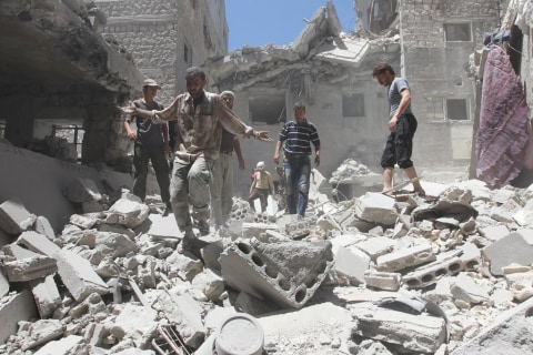 Maternity Hospital Bombed in Syria's Idlib