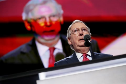 First Read: Mitch McConnell's Supreme Court Dilemma