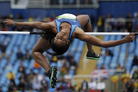 Olympic Moments: Fast Walkers and High Jumpers