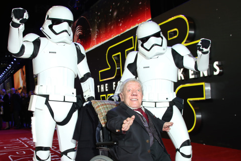 'Star Wars' Actor Kenny Baker, Who Played R2-D2, Dies at 81: Reports