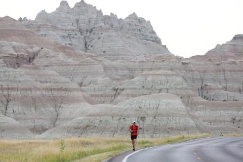 Badlands and Beyond: Marathoner Charts Course Through Every National Park