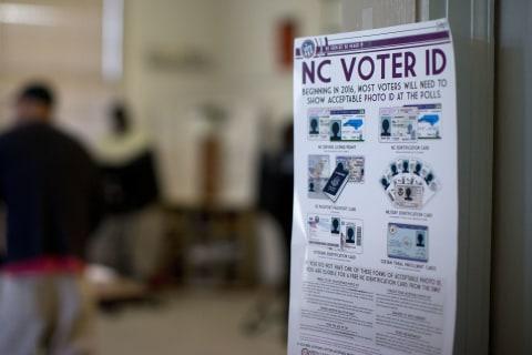 Supreme Court Won't Reinstate Strict NC Voting Law