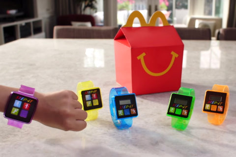 McDonald's Pulls Fitness Tracker Toy From Happy Meals After Reports of Skin Rash