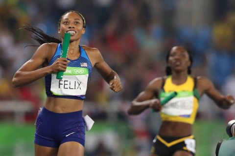 U.S. Women Win Sixth Consecutive Olympic Gold in 4x400m Relay