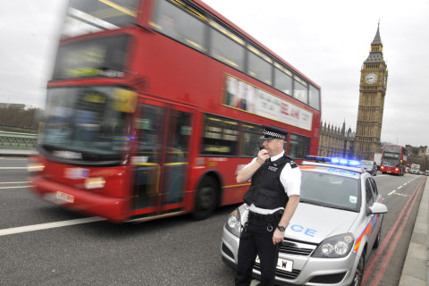 Cops Without Guns Dominate as London Awaits 'Likely' Attack