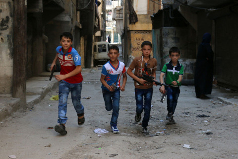Aleppo's Children Endure Life in Syrian War Zone