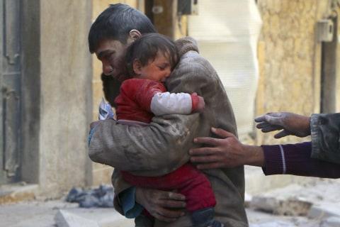 Aleppo's Children Endure Life in Syrian War Zone