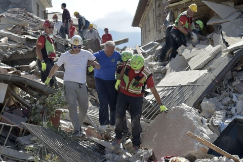 Italy Earthquake: Rescuers Dig for Survivors as Death Toll Climbs