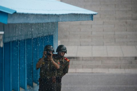 North Korea Threatens to Fire at U.S. Troops' Lighting Equipment at Panmunjom