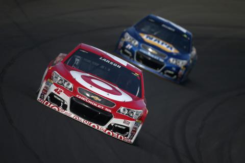 Kyle Larson Wins NASCAR Sprint Cup's Pure Michigan 400 on NBCSN